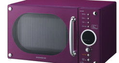 Daewoo KOR6N9RP Gloss Purple 20L Microwave Review