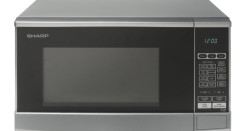 sharp r861slm. sharp r270slm solo 20l microwave review (silver) r861slm