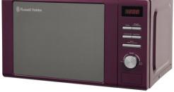 Russell Hobbs Heritage RHM2064P Purple Microwave Oven