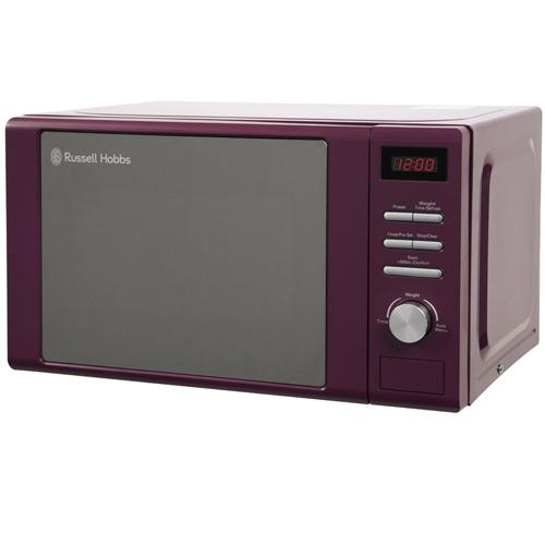 Purple Microwave Oven: Russell Hobbs Heritage RHM2064P Purple Microwave Oven