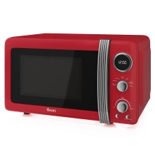 Swan Retro 20L 800W Red Microwave Review