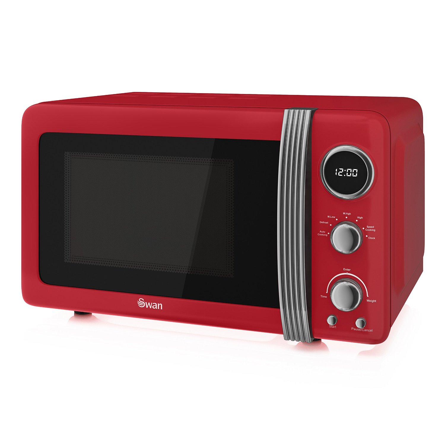 Swan Retro 20L 800W Red Microwave Review ...