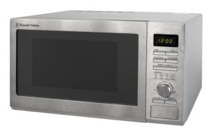 The Russell Hobbs is one of the best solo 900W microwaves on the market.