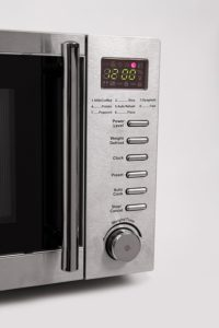 The front panel of the Russell Hobbs RHM2048SS