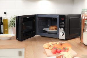 Image showing interior of the Russell Hobbs RHM2076B microwave