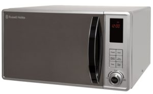 The Russell Hobbs RHM2362S is a 23 litre 800W microwave.