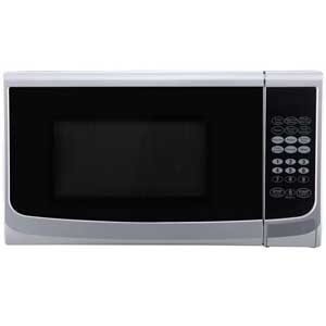 Delonghi E98CWW Silver Microwave with Grill