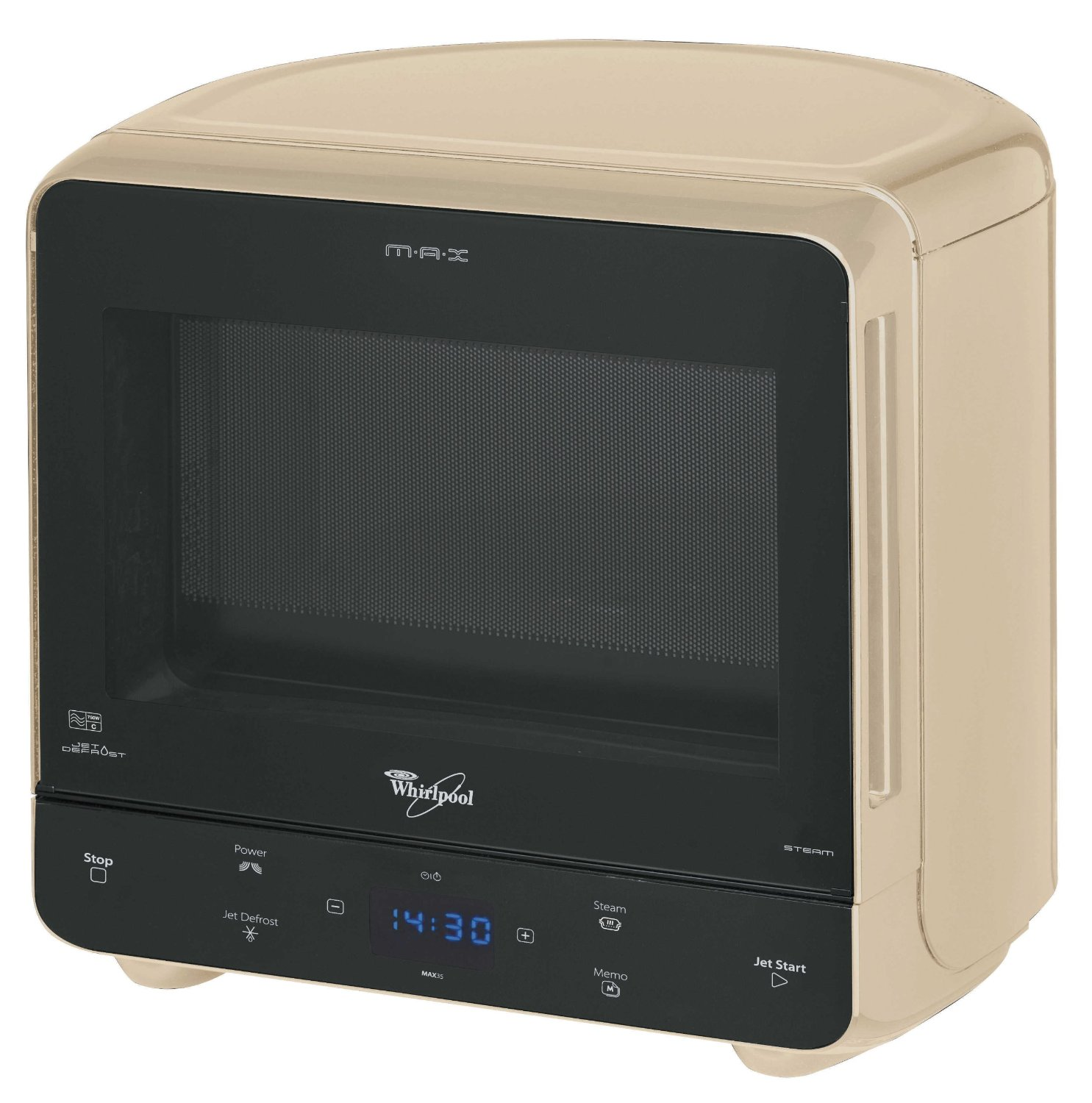 Whirlpool Max 35 Solo and Steam Microwave Review (cream